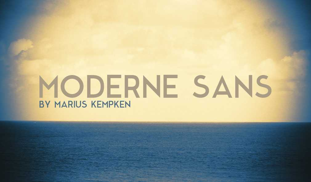 Moderne Sans Over Garett Southerton Photography