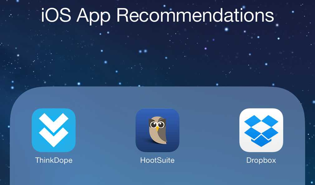 iOS App Recommendations