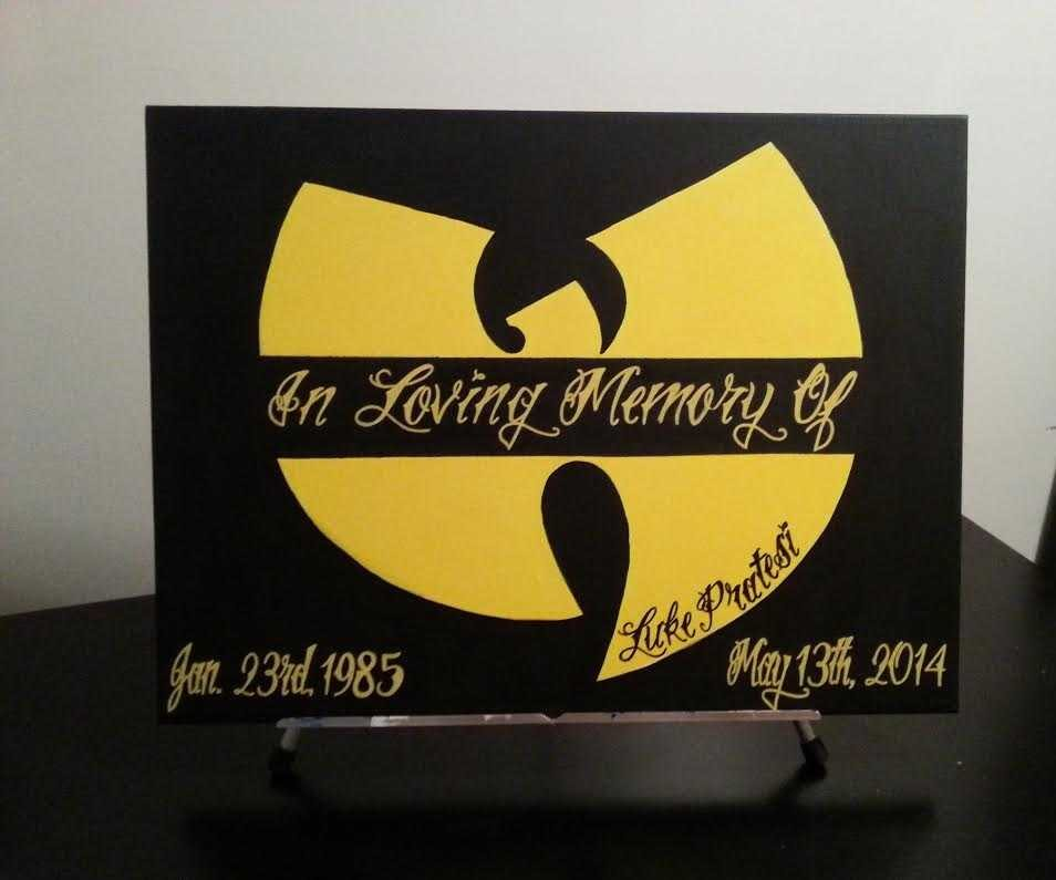 Finished Memorial Wu-Tang Canvas