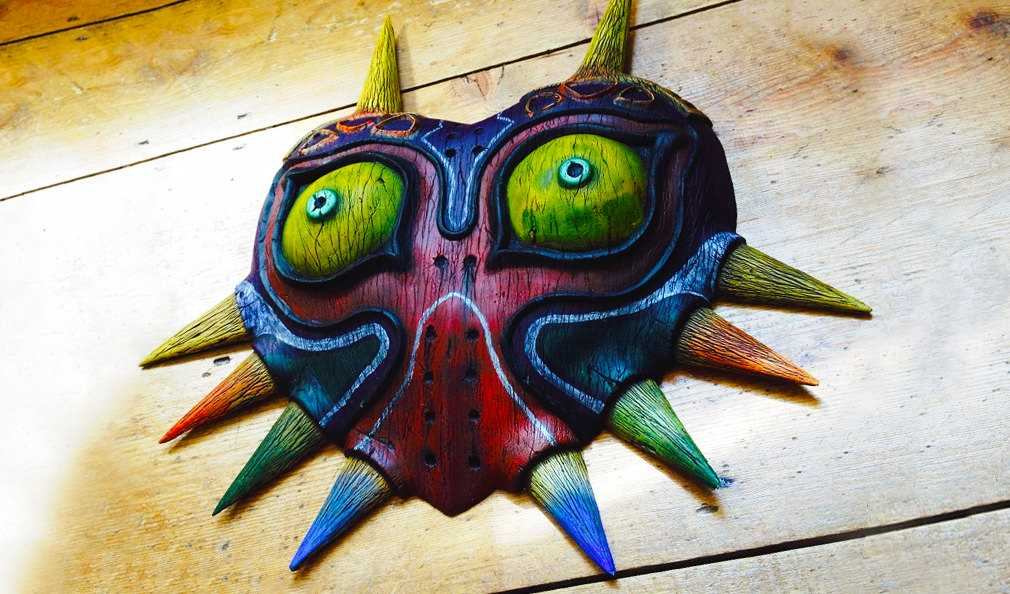 Majora's Mask Replica from The Legend of Zelda