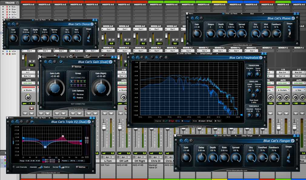 Blue Cat Audio Freeware Plug-ins Pack II