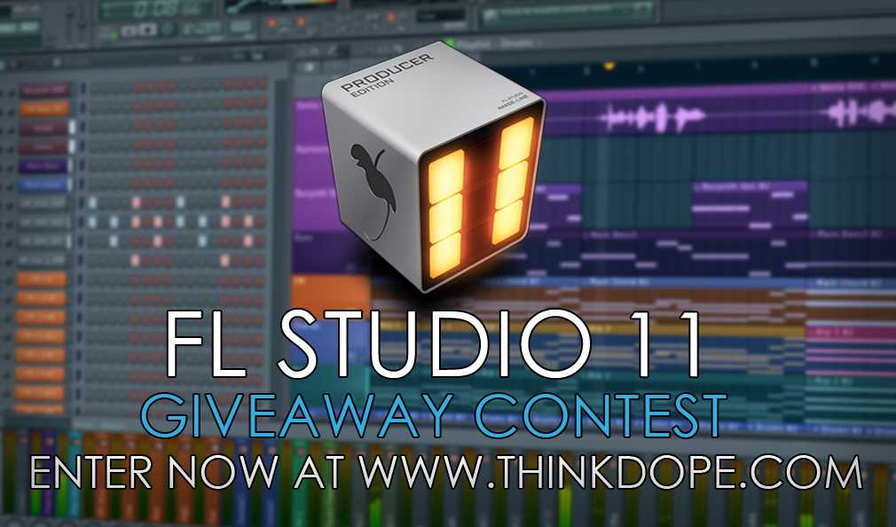 FL Studio Producer Edition Giveaway