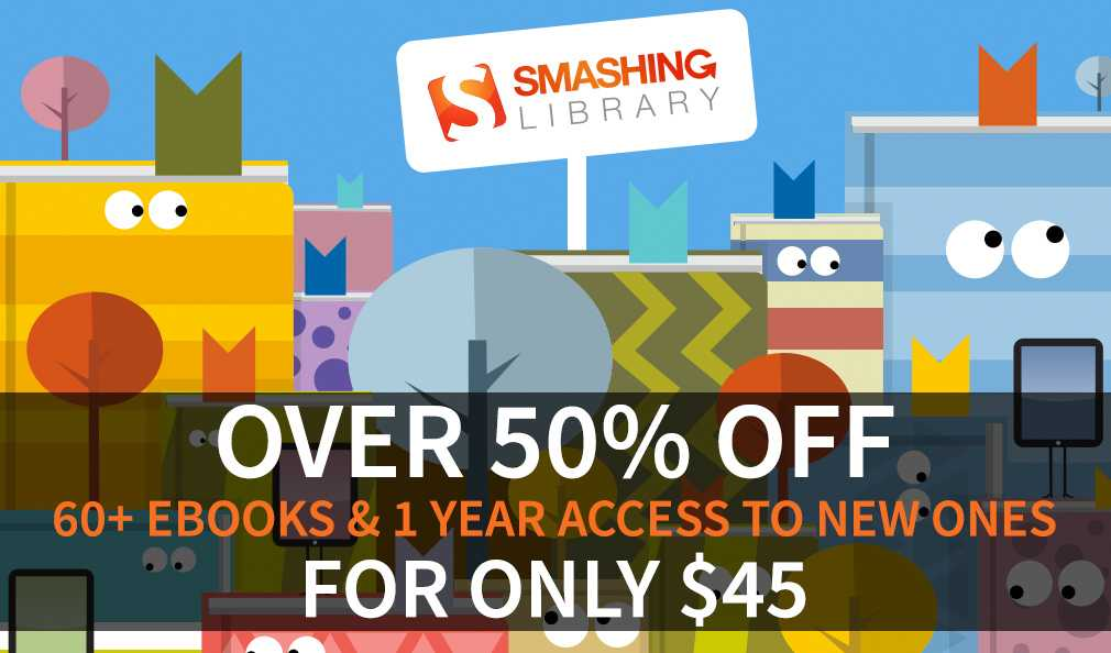 Smashing Library Books Deal