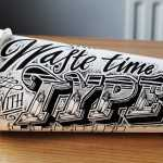 Rob Draper - Coffee Time - Waste Time With Type