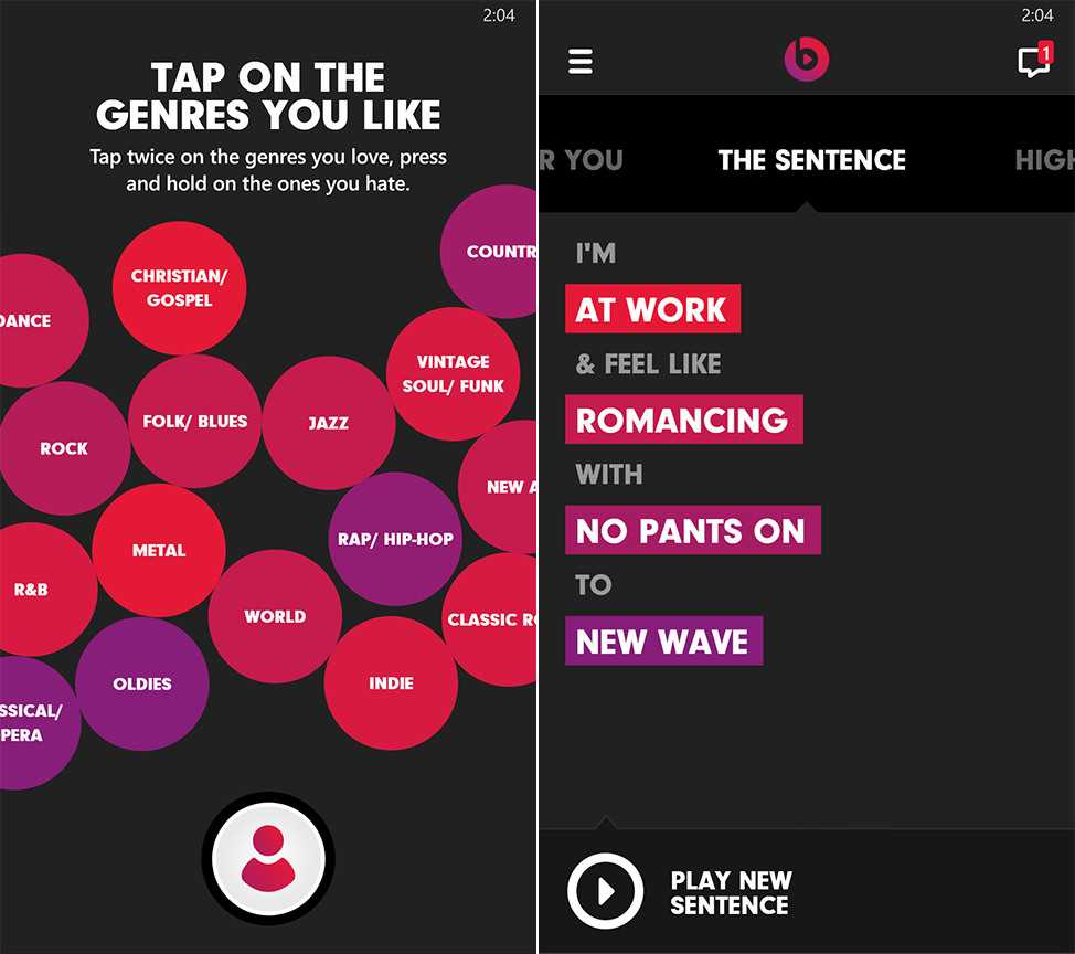 Beats Music Music Steaming Service