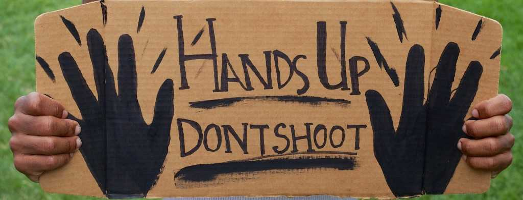 Art: Where Does It Stand In Revolution - Hands Up Don't Shoot