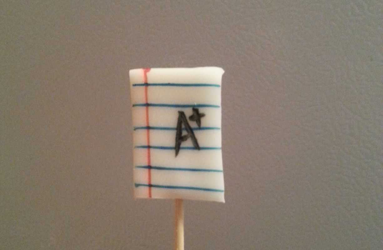 How To Make Creative Back to School Cupcakes - Decorations on Toothpick