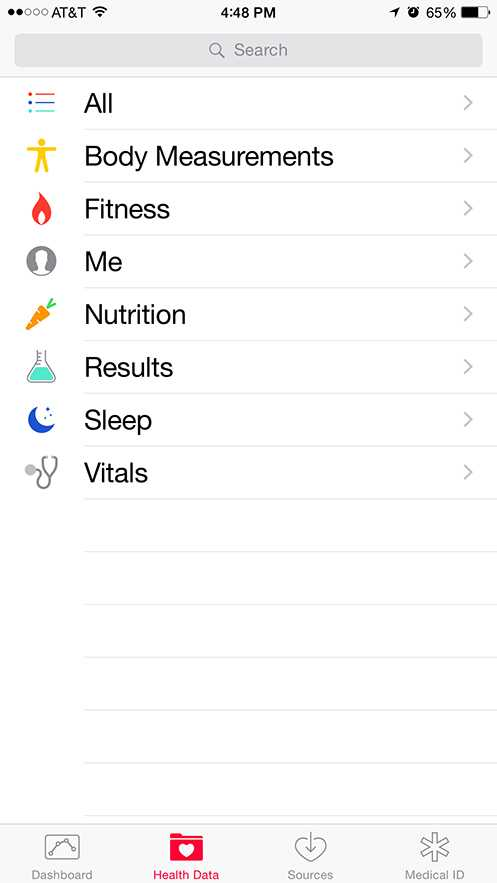 Apple iPhone 6 Plus - iOS 8 Health
