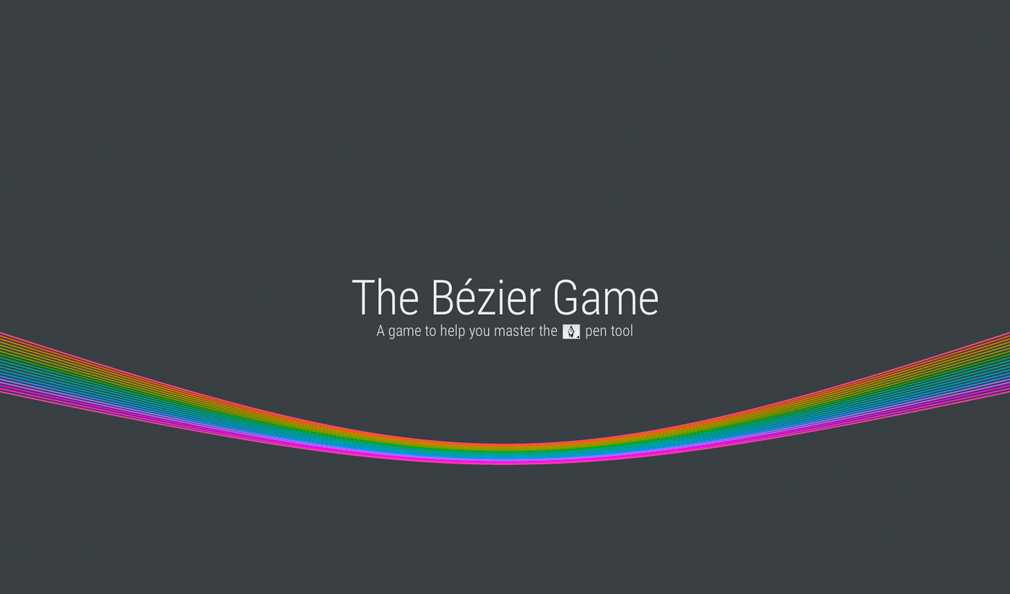 The Bézier Game: How You Can Master The Pen Tool