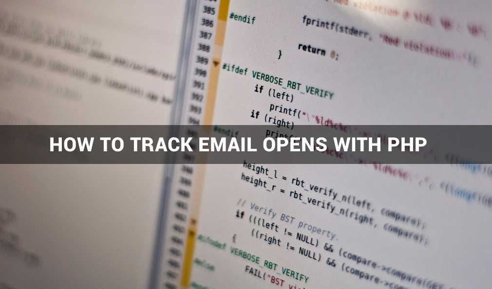 How To Track Email Opens with PHP Tutorial