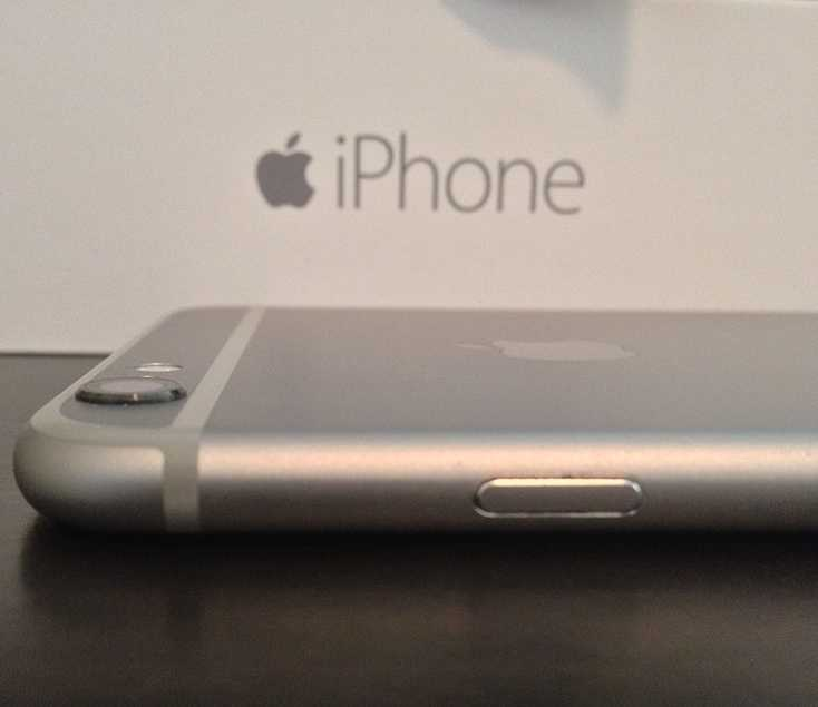 Apple iPhone 6 Plus - Side