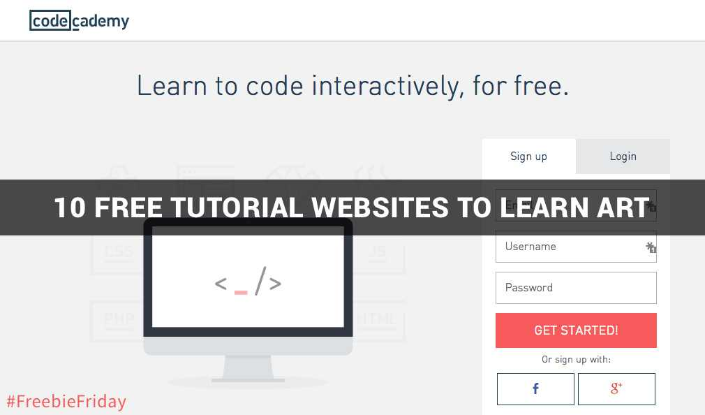10 Free Tutorial Websites To Learn Art [Freebie Friday]