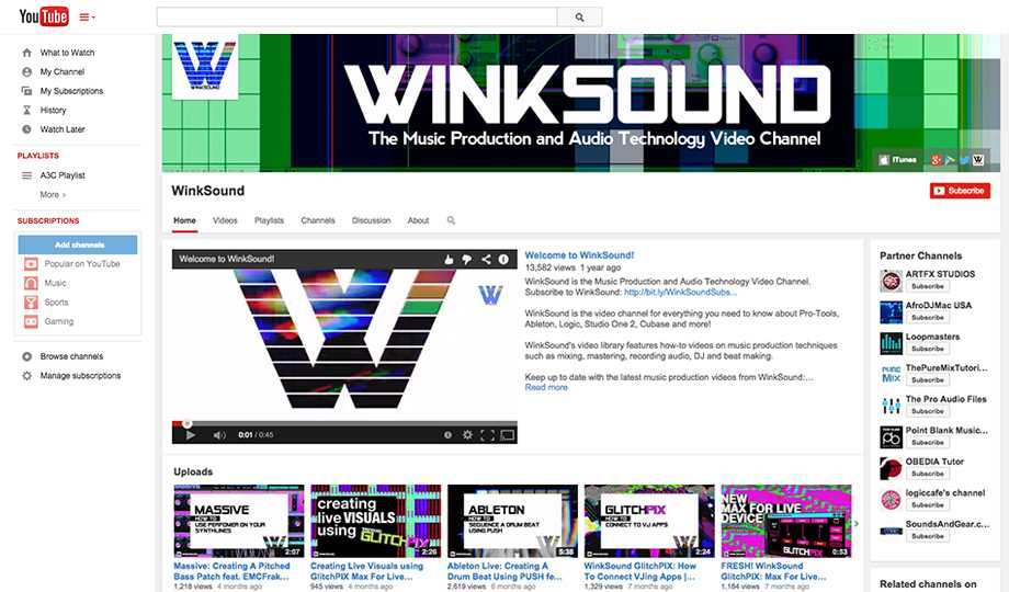 10 Free Tutorial Websites To Learn Art: Winksound