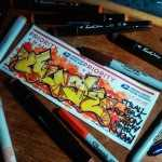 Graffiti Art by Quse - Slap 1