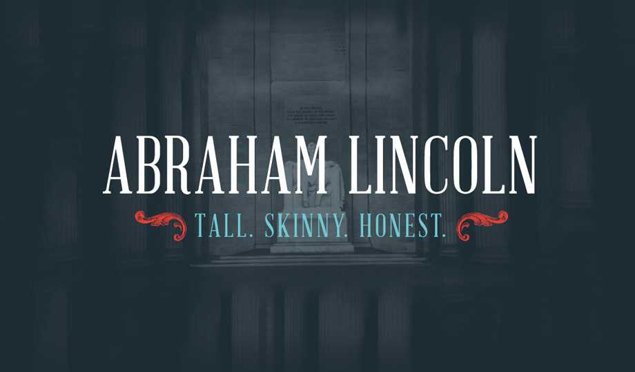 10 Best Free Serif Fonts - Abraham Lincoln