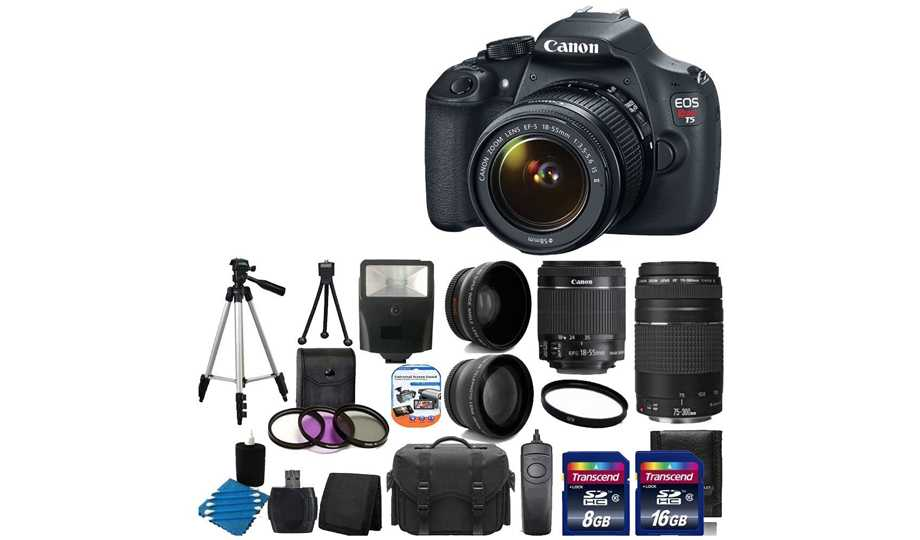 Gift Ideas For The Musician - Canon EOS Rebel T5
