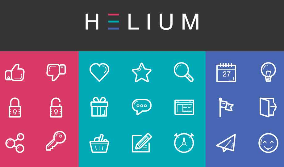 10 Best Free Stroke Icon Sets - Helium