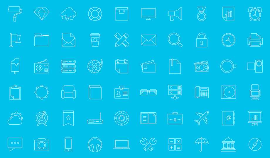 10 Best Free Stroke Icon Sets - Modern Line Icons