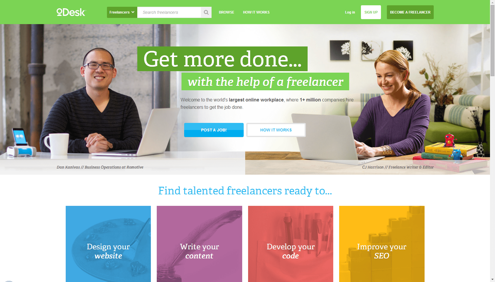 Paying Bills As A Start-Up Founder: Freelancing - oDesk