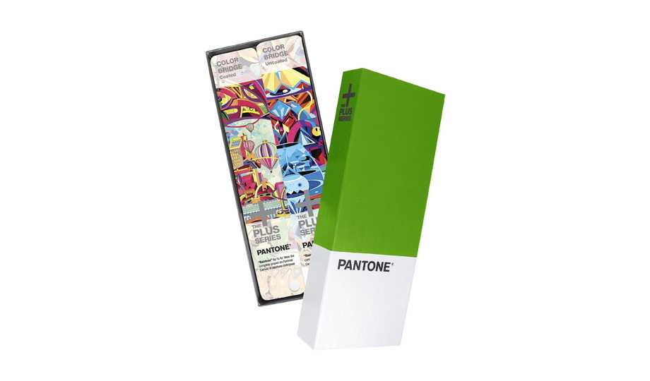 Gift Ideas For The Graphic Designer -  PANTONE GP5102 Plus Series Color Bridge Guide Set