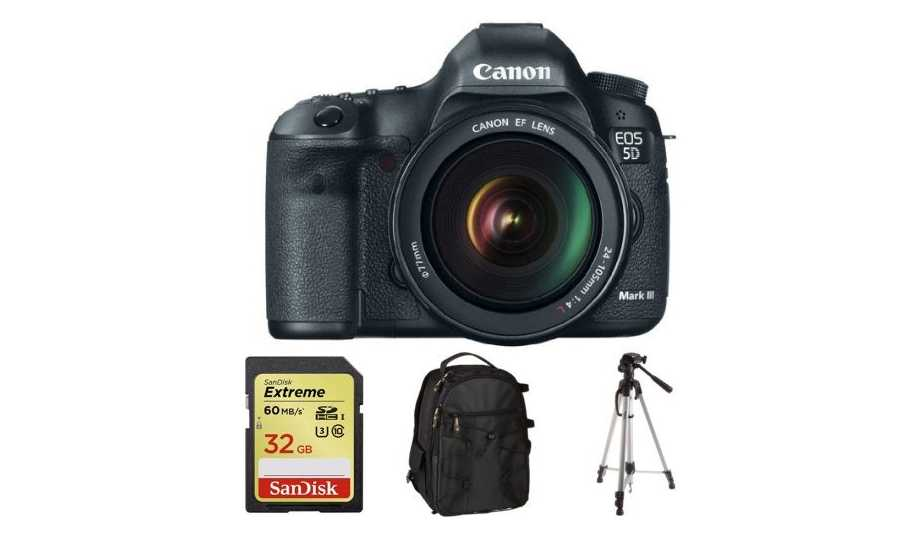 Gift Ideas For The Music Entrepreneur - Canon 5D Mark III and Lens