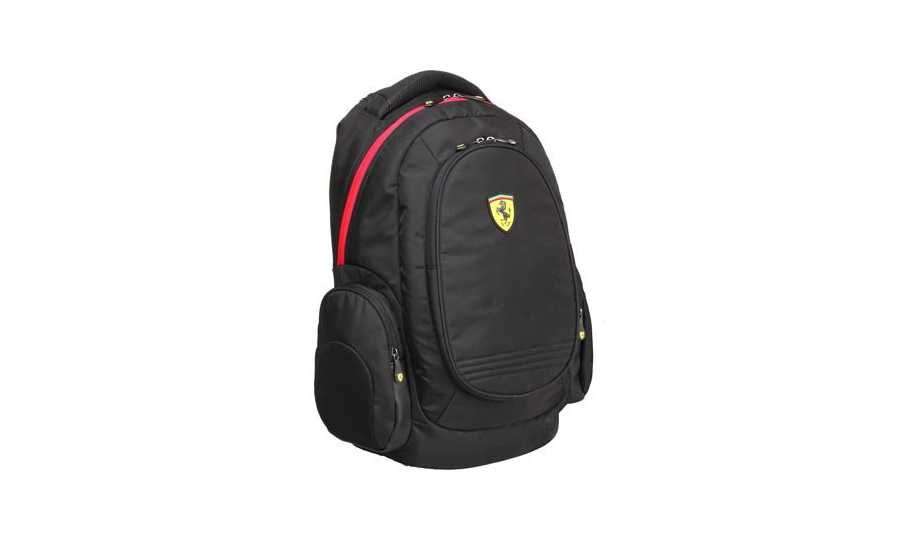 Gift Ideas For The Music Entrepreneur - Ferrari Heavy Duty Laptop Backpack