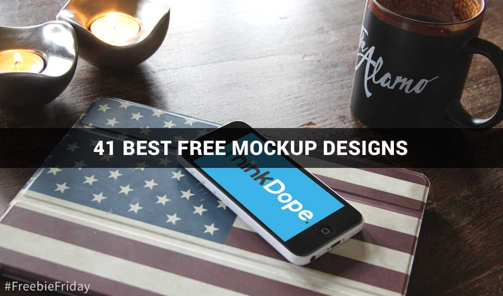 41 Best Free Mockup Designs For Your Work [Freebie Friday]
